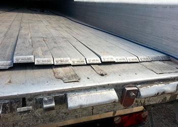 Revisione piani mobili cargo floor/knapen